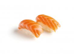 Суши с лососем, 2 штуки