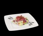 Салат с карпаччо из говядины