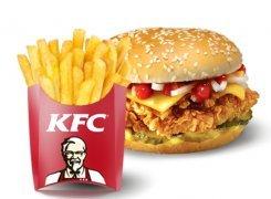 Купон 3557 (чизбургер+фри)
