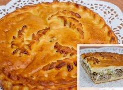 Пирог с картошкой и говядиной