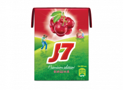 Сок J7 Нектар с вишней